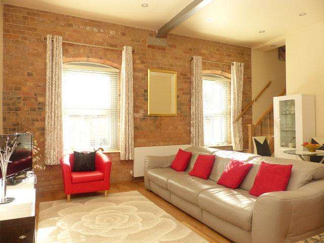 2 Bedrooms Ground Flat for sale in The Malt House,Cairns Close,Lichfield