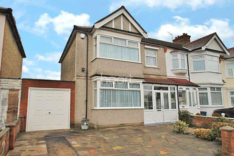 3 Bedrooms End Of Terrace House for sale in Fairholme Road, Ilford, Essex