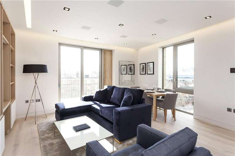 2 Bedrooms Flat for sale in Chatsworth House, Duchess Walk, London, SE1