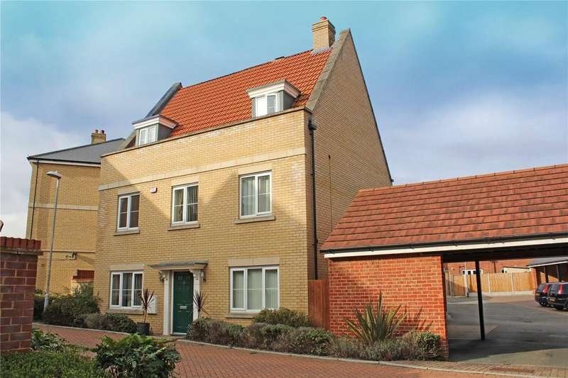 5 Bedrooms Detached House for sale in College Lane, Laindon, Essex, SS15