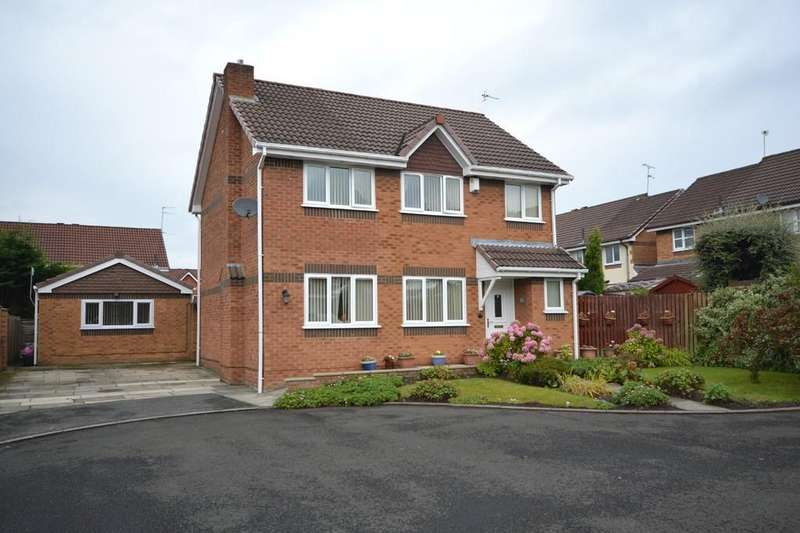 4 Bedrooms Detached House for sale in Buckthorn Gardens, Rainhill , St. Helens