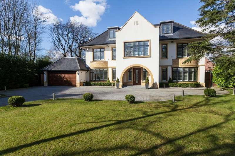 5 Bedrooms Detached House for sale in Dean Row Road, Wilmslow
