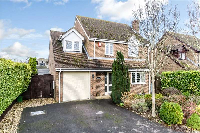 4 Bedrooms Detached House for sale in Stoney Lane, Ashmore Green, Thatcham, Berkshire, RG18