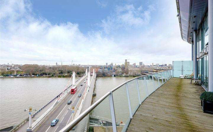 5 Bedrooms Penthouse Flat for sale in Centurion Building, 376 Queenstown Road, London, SW8