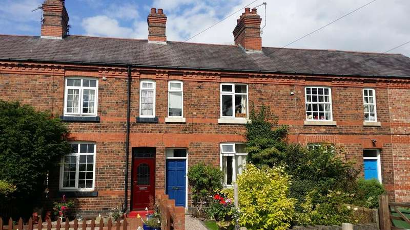 2 Bedrooms Terraced House for sale in Station Road, Goostrey