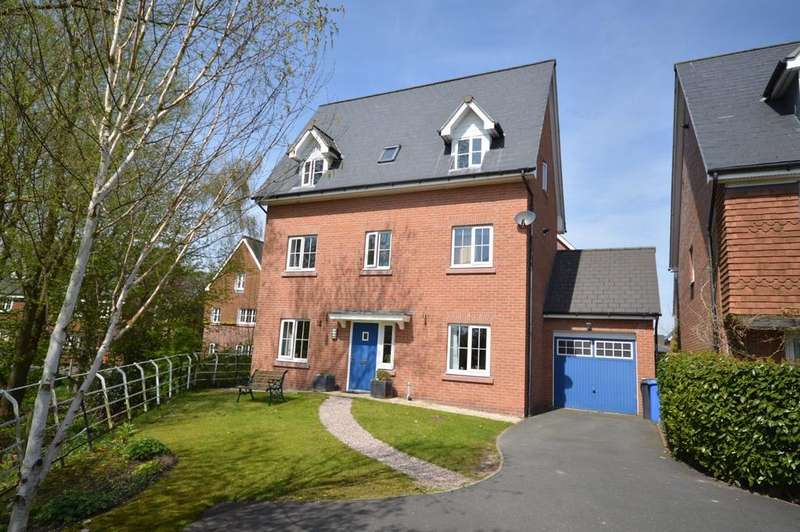 4 Bedrooms Detached House for sale in Chaise Meadow, Lymm