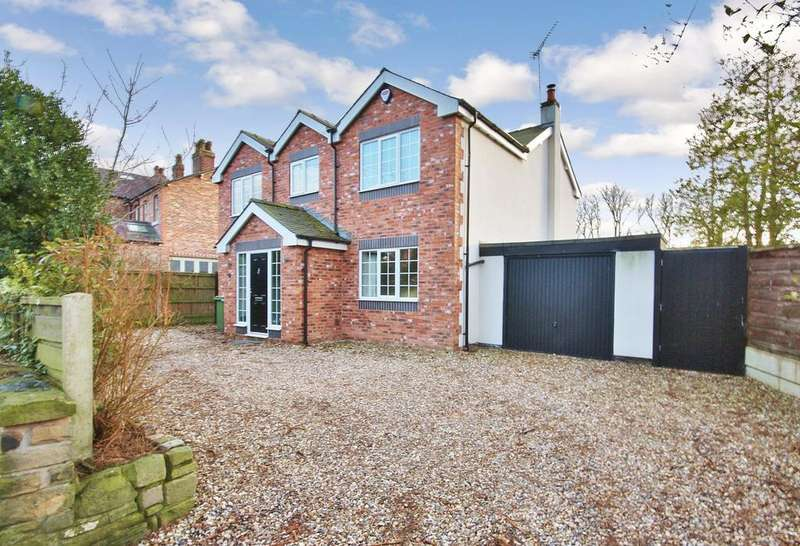 4 Bedrooms Detached House for sale in Gravel Lane, Wilmslow