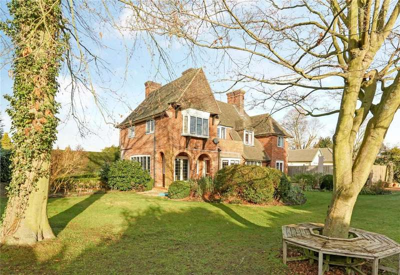 4 Bedrooms Detached House for sale in Orchard Road, Old Windsor, Windsor, Berkshire, SL4