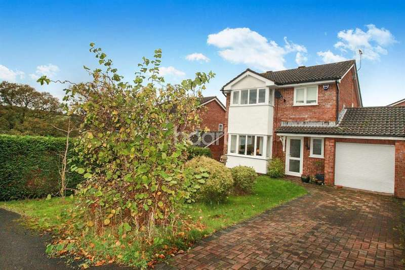 4 Bedrooms Detached House for sale in Hook Close, Osbaston, Monmouth