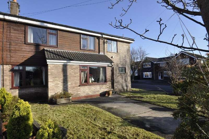 3 Bedrooms Semi Detached House for sale in Glastonbury Avenue, Cheadle Hulme