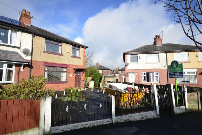 3 Bedrooms Semi Detached House for sale in Lupin Avenue, Farnworth, Bolton, BL4