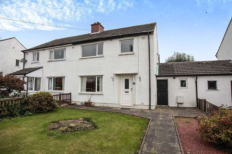3 Bedrooms Semi Detached House for sale in Cross Lane, Wigton, CA7