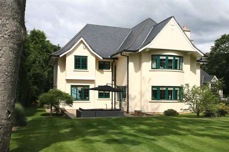 5 Bedrooms Detached House for sale in Church Coppice, Off Harrop Road, Hale, Cheshire, WA15