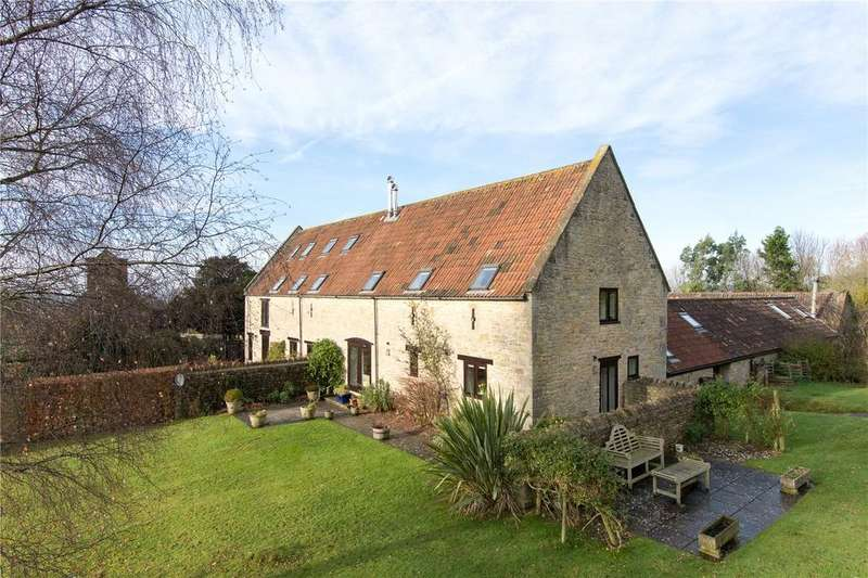 3 Bedrooms Semi Detached House for sale in Church Farm Barns, Lamyatt, Shepton Mallet, Somerset, BA4