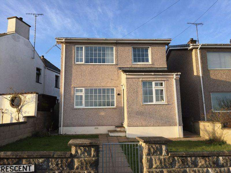 3 Bedrooms Detached House for sale in Trehwfa Crescent, Holyhead