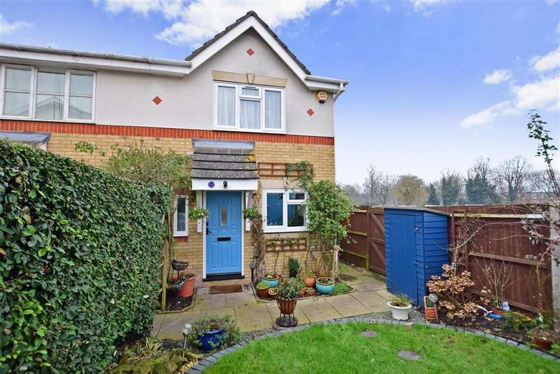 2 Bedrooms End Of Terrace House for sale in Baron Close, Sutton, Surrey