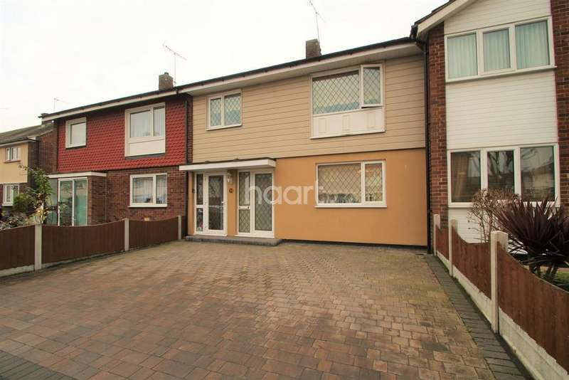3 Bedrooms Terraced House for sale in Somerset Gardens, Basildon