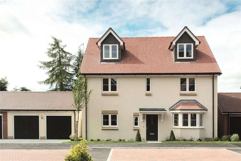 4 Bedrooms Detached House for sale in Kings Field, Marcham, Abingdon, Oxfordshire, OX13