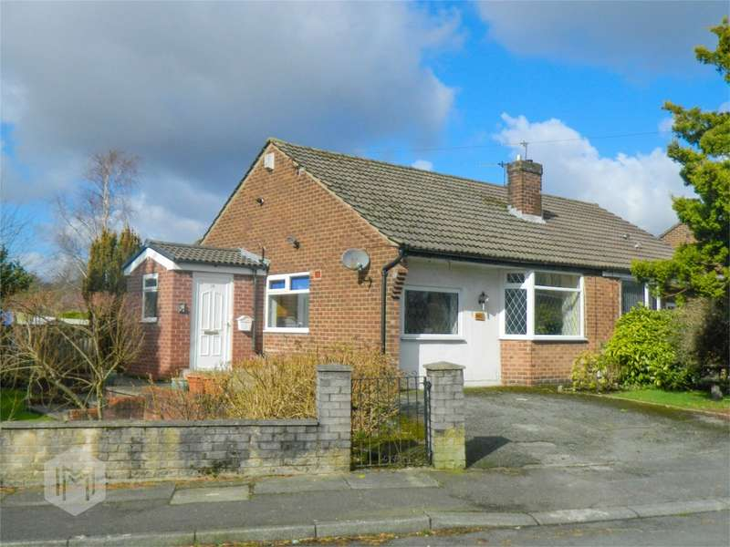 2 Bedrooms Semi Detached Bungalow for sale in Lea Gate Close, Harwood, Bolton, Lancashire