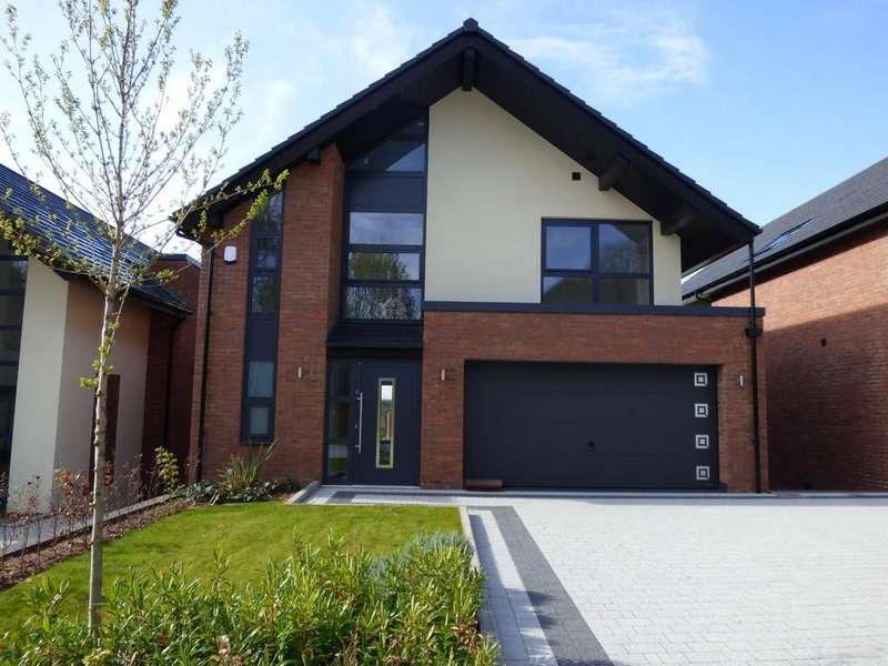 4 Bedrooms Detached House for sale in Plot 4, Quarry Hills Close, Quarry Hills Lane, Lichfield