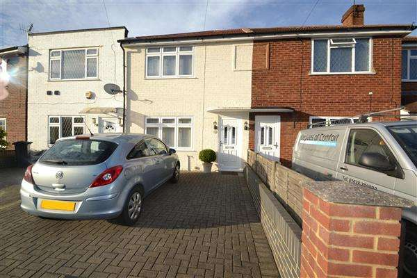 2 Bedrooms Terraced House for sale in Northumberland Crescent, Bedfont