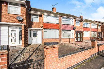 3 Bedrooms Terraced House for sale in Armscott Road, Wyken, Coventry, West Midlands