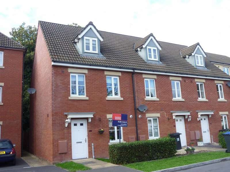 3 Bedrooms End Of Terrace House for sale in Primmers Place, Westbury