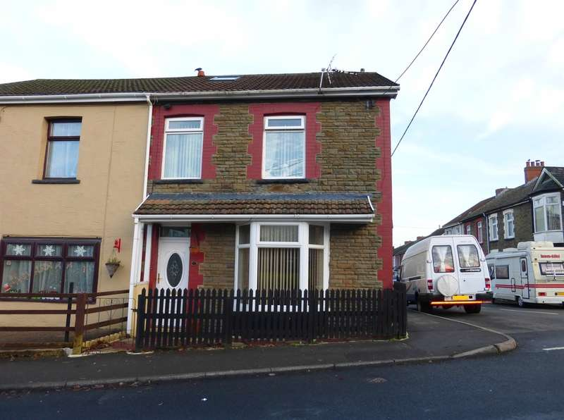 4 Bedrooms End Of Terrace House for sale in Aberfawr Road, Abertridwr