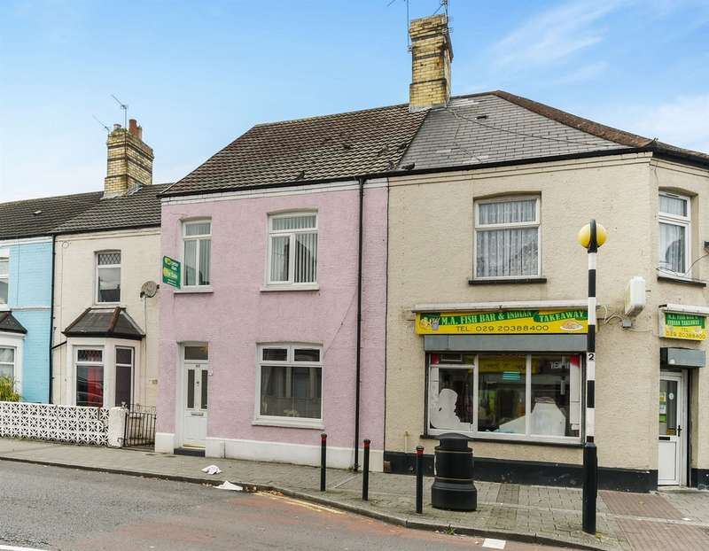 3 Bedrooms Terraced House for sale in Cornwall Street, CARDIFF