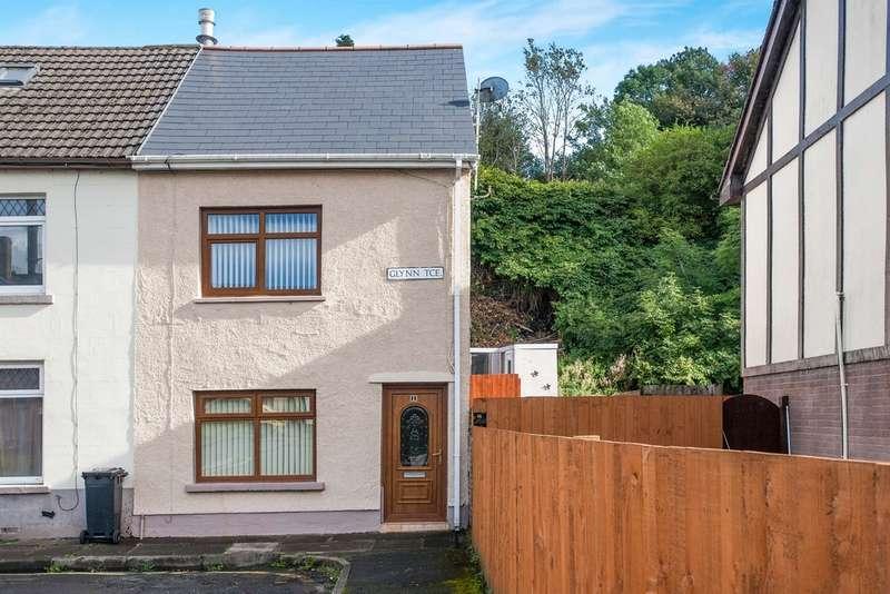 3 Bedrooms End Of Terrace House for sale in Glynn Terrace, Merthyr Tydfil