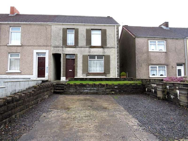 3 Bedrooms End Of Terrace House for sale in Llangyfelach Road, Tirdeunaw, Swansea