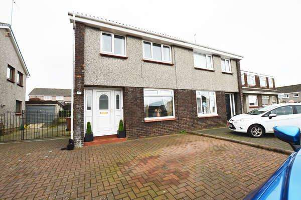 3 Bedrooms Semi-detached Villa House for sale in 48 Greenacres, Ardrossan, KA22 7PP