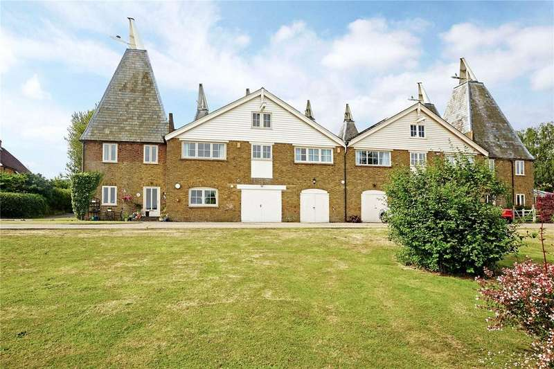 4 Bedrooms Semi Detached House for sale in Court Lodge Farm Oast, Lower Road, East Farleigh, Maidstone, ME15