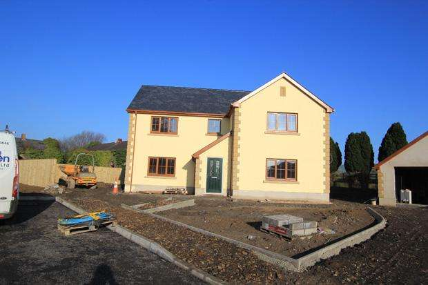 4 Bedrooms Detached House for sale in Plot 3 Glancothi Mansion, Allt Y Ferin Road, Pontargothi, Carmarthen, Carmarthenshire
