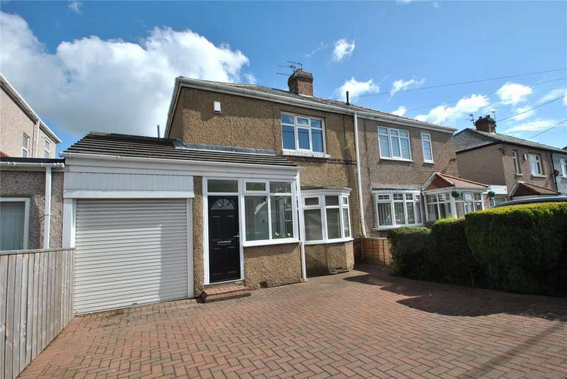 2 Bedrooms Semi Detached House for sale in Brookside, Houghton le Spring, Tyne and Wear, DH5