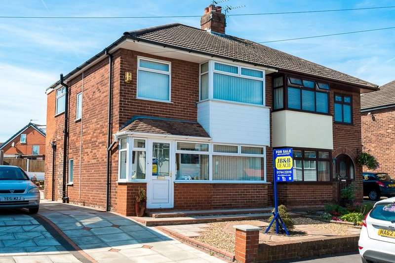 3 Bedrooms Semi Detached House for sale in Easington Road, Nutgrove, St. Helens