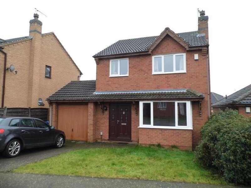 3 Bedrooms Detached House for sale in Doulton Close, Desborough, NN14 2XX