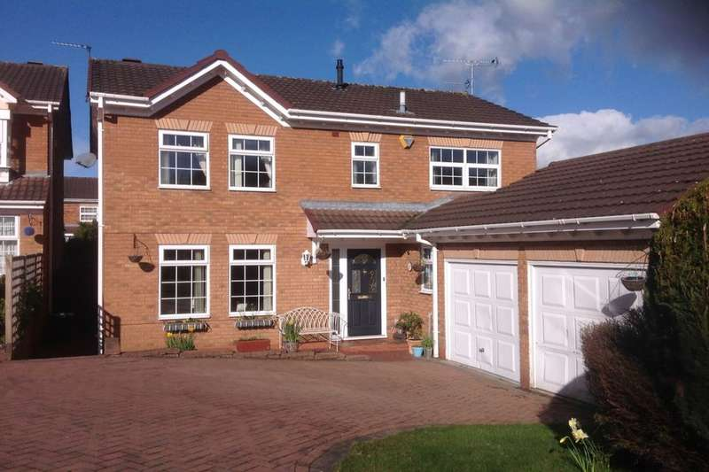 4 Bedrooms Detached House for sale in Whinchat Close, Apley, Telford, TF1