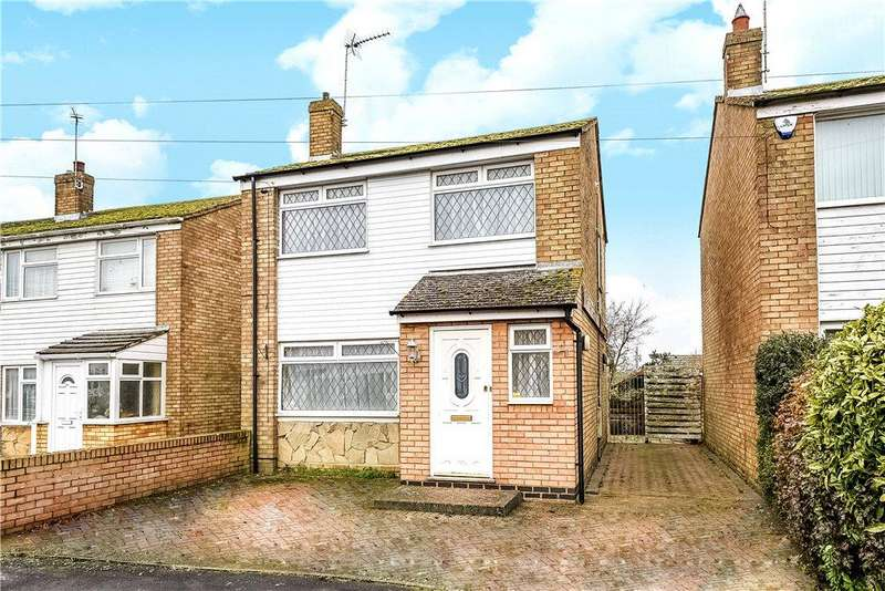 3 Bedrooms Detached House for sale in Abbey Close, Bozeat, Northamptonshire