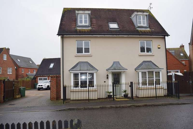 5 Bedrooms Detached House for sale in Worrin Road, Flitch Green, Dunmow, Essex, CM6 3FU