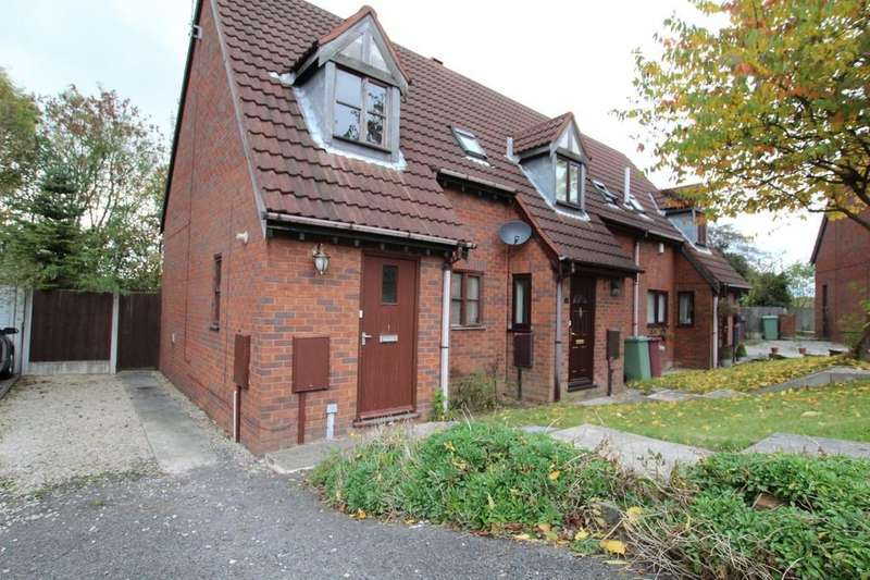 2 Bedrooms Semi Detached House for sale in 21, Orchard Close, Barlborough, Chesterfield