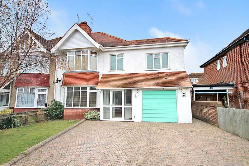 5 Bedrooms Semi Detached House for sale in Pembroke Avenue, Worthing BN11 5QS
