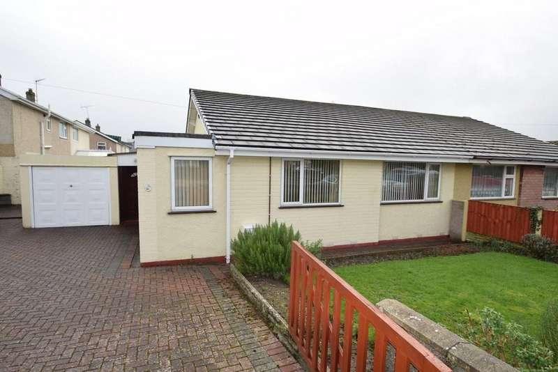 2 Bedrooms Semi Detached Bungalow for sale in Pendyffryn, Llandudno Junction