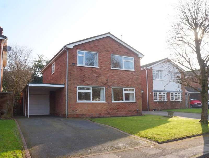 4 Bedrooms Detached House for sale in Alveston Grove, Knowle