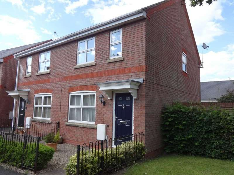 3 Bedrooms Semi Detached House for sale in Buckridge Lane, Dickens Heath