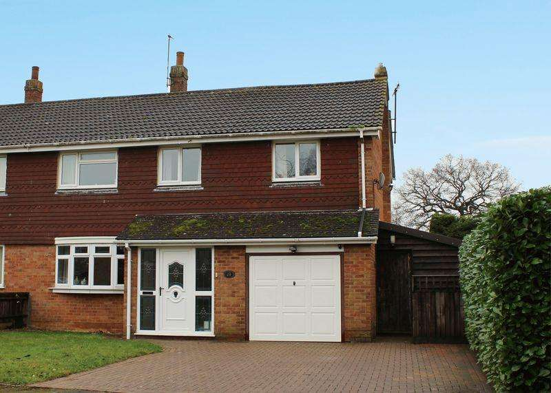 4 Bedrooms Semi Detached House for sale in Glebe Road, Stanford in the Vale