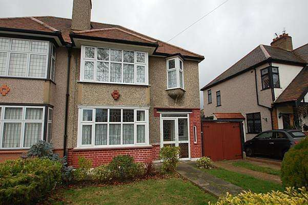 3 Bedrooms Semi Detached House for sale in Gaynes Park Road, Upminster, Essex, RM14