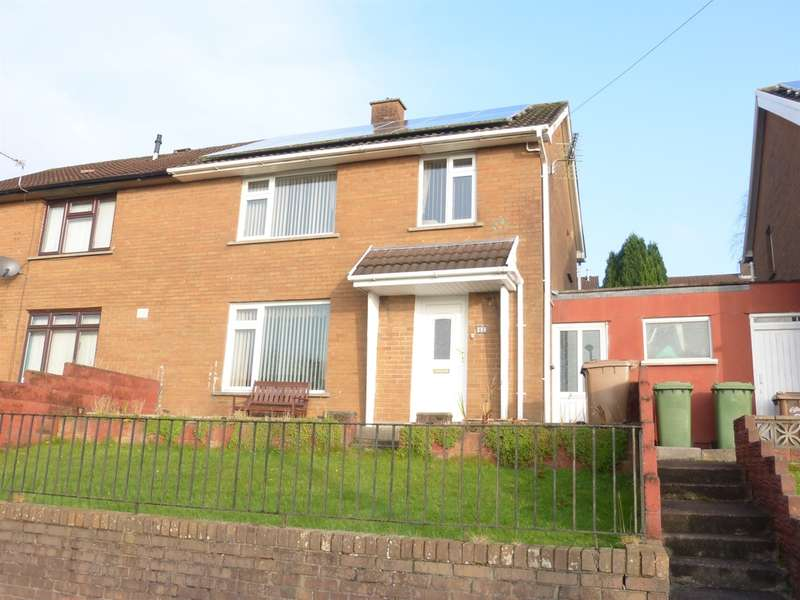 3 Bedrooms Semi Detached House for sale in Glan Ffrwd, Penyrheol, Caerphilly