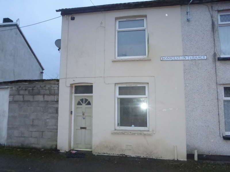 2 Bedrooms End Of Terrace House for sale in Bonvilston Terrace, Trallwn, Pontypridd