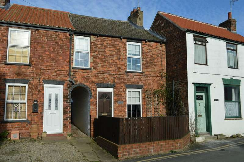 2 Bedrooms Terraced House for sale in Seahorn Cottage, Back Southgate, Hornsea